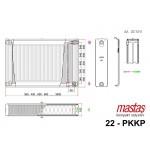 Mastaş PKKP Tip 22 Sava Kompakt Ventil Renkli