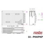 Mastaş PKKPKP TİP 33 Klasik Radyatör